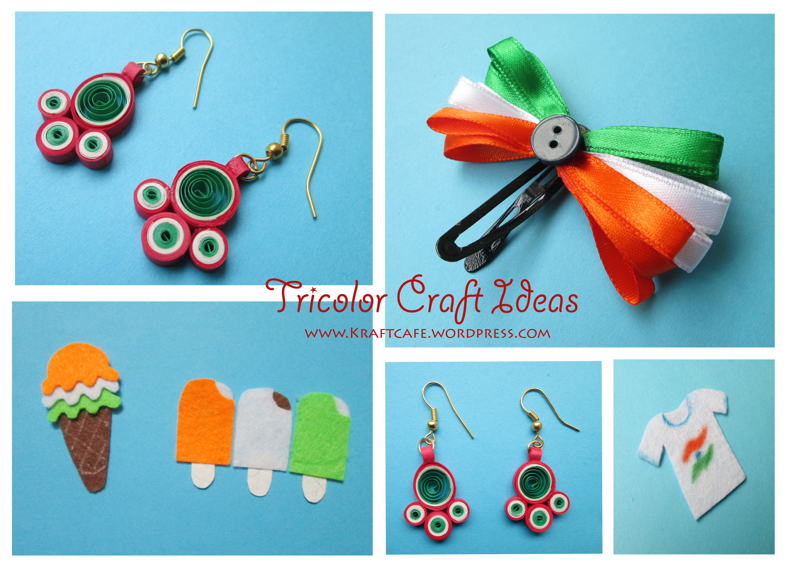 Tricolor Craft Ideasindependence Day Special Kraftcafe within craft ideas independence day regarding Invigorate