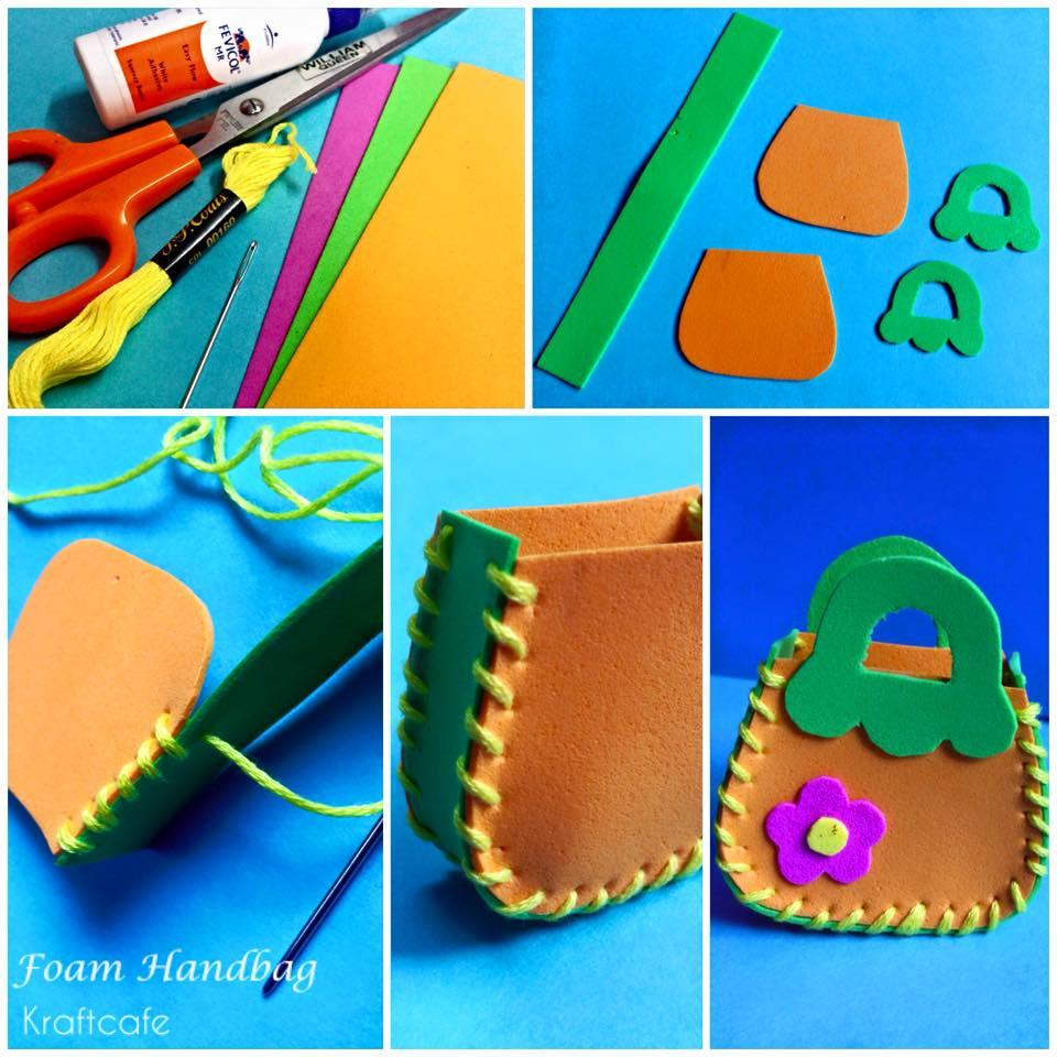 Diy Foam Handbag Varnam Art Class