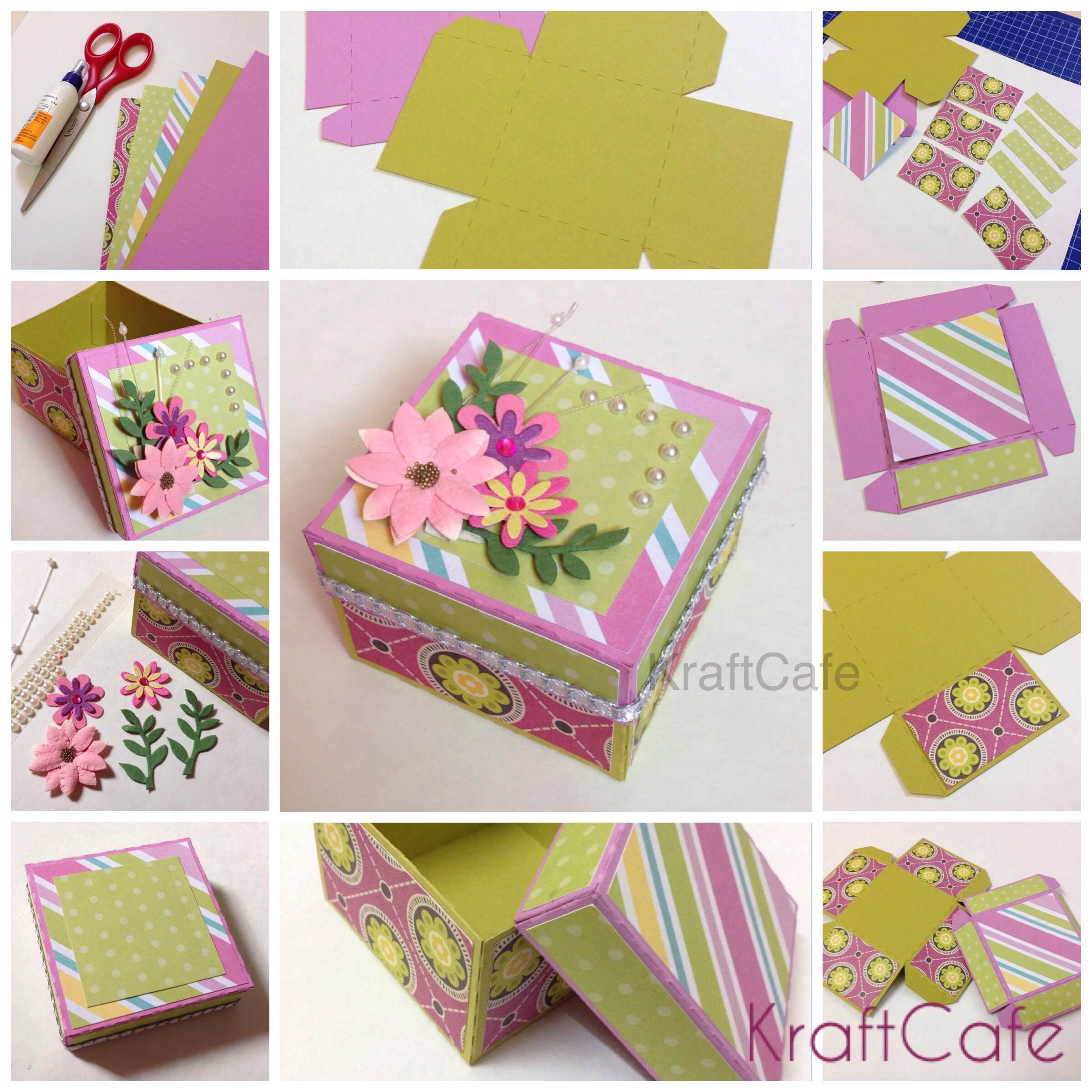 DIY Gift Box Varnam Art Class